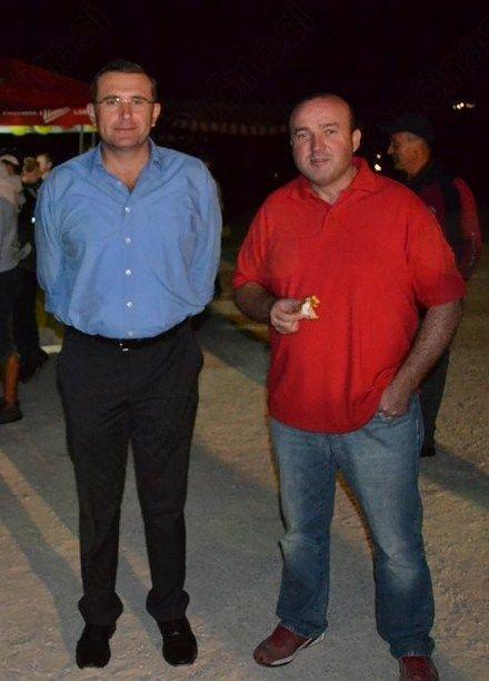 Obiskala sta nas tudi župan Kotnik Matej in podžupan Andrejka Bojan