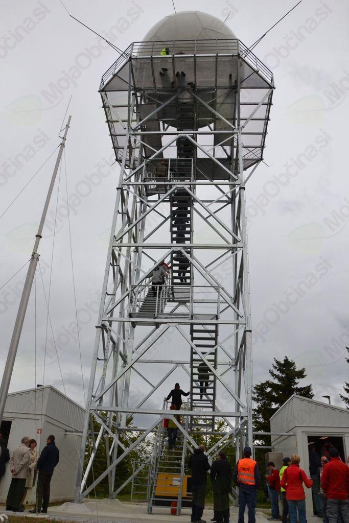 Slovesno odprtje vremenskega radarja na Pasji ravni