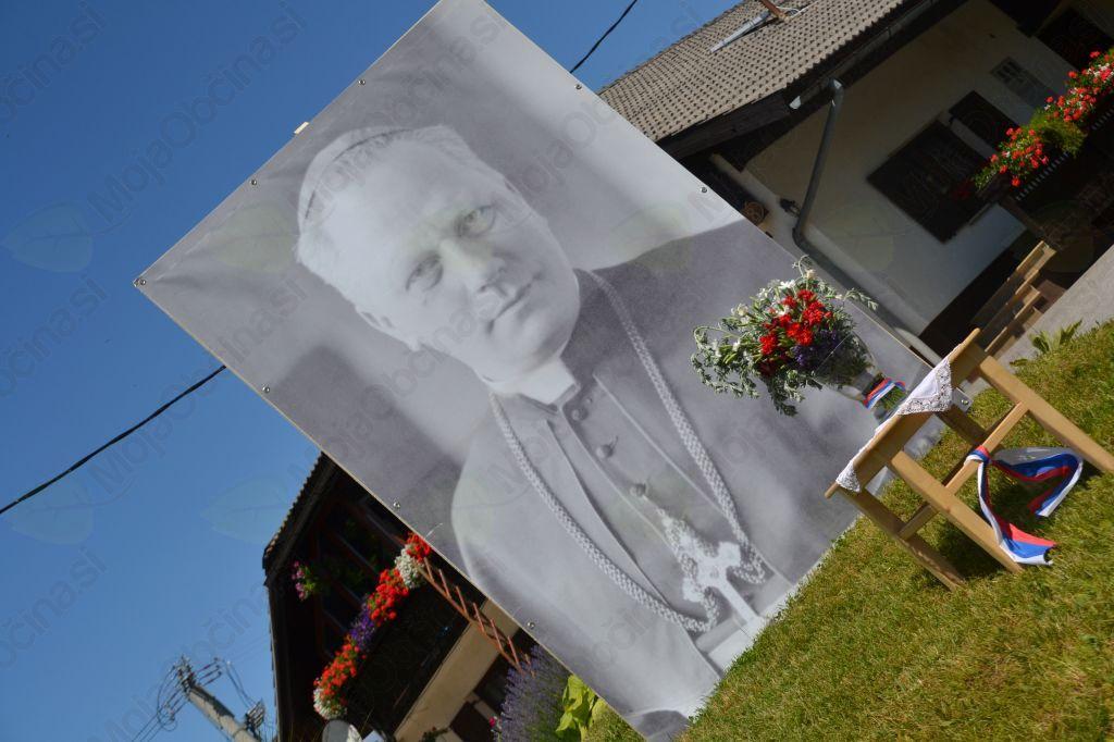 Škof Rožman, rdeča nit spominske slovesnosti