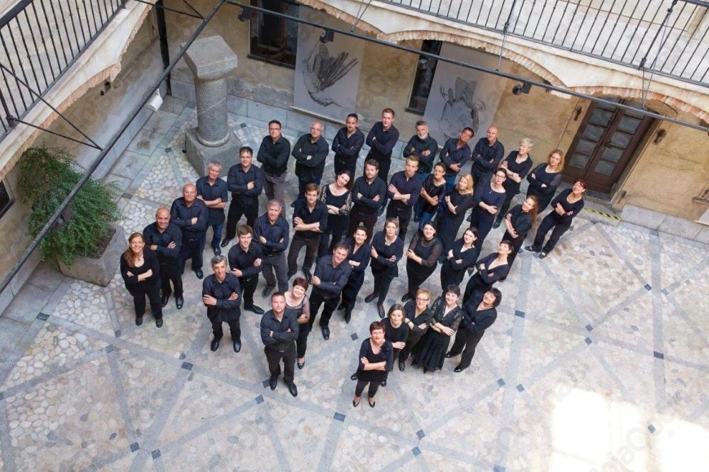 Eminentni gostje Zbora slovenske filharmonije v Šentvidu. Foto: Janez Kotar