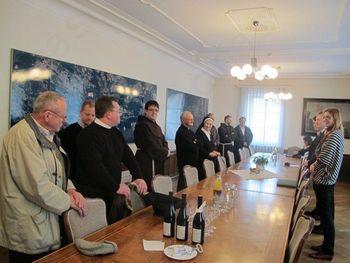 Letno srečanje z župniki in s predstojniki samostanov