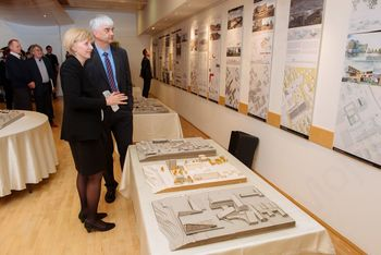 Otvoritev razstave: Zreče center - oblikovanje novega mestnega jedra