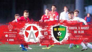 NK Aluminij vs. NK Rudar Velenje - 4. krog PLTS 2019/20