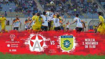 NK Aluminij vs. NK Domžale - 16. krog PLTS 2019/20