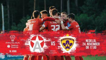 NK Aluminij vs. NK Maribor - 18. krog PLTS 2019/20