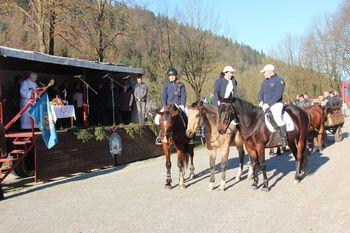 Blagoslov konj na hipodromu Vrbljene tudi letos uspel