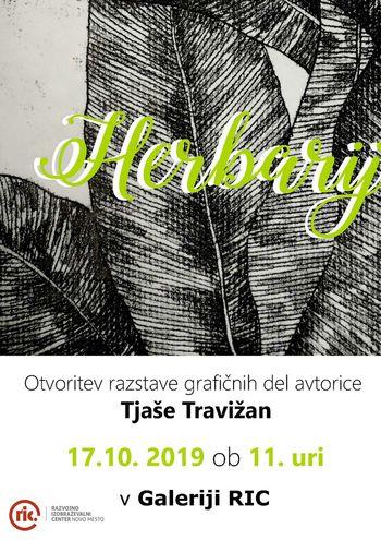 Otvoritev razstave grafik Herbarij
