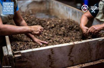 Vrtnarska delavnica - postavitev kompostnika