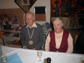Slavka in Lenko sta praznovala