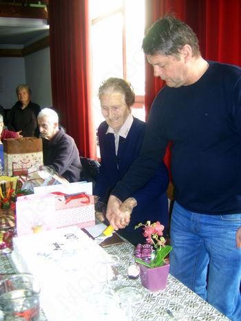 100. rojstni dan Angele Hodnik