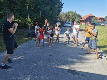 Poletni tabor za otroke iz naselja Vejar 2020