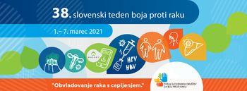 Letošnji slovenski teden boja proti raku poteka v znanemnju obvladovanja raka s cepljenjem