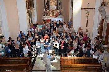 Srečanje pevcev cerkvenih pevskih zborov