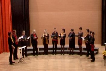 Ta veseli dan kulture – prvi samostojni koncert Ženskega pevskega zbora Osnovne šole Kanal