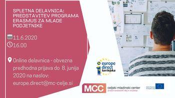 Predstavitev programa Erasmus za mlade podjetnike