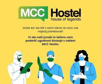MCC Hostel nudi ugodne nastanitve junakom časa epidemije