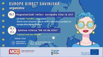 Europe Direct Savinjska, ki deluje v okviru Celjskega mladinskega centra pripravlja pester poletni program
