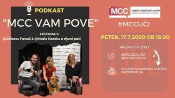 MCC vam pove: Podkast z Dolores Ponoš & Maticem Nareksom