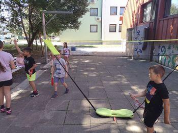 Otroci v družbi Celjskega mladinskega centra neizmerno uživali