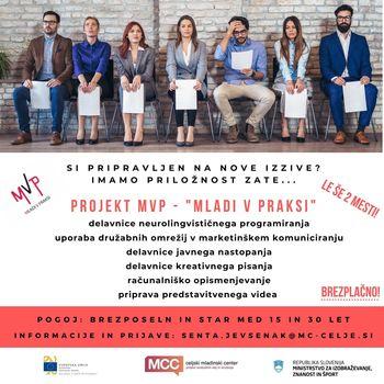 Predstavitev programa Mladi v praksi, namenjen mladim brezposelnim