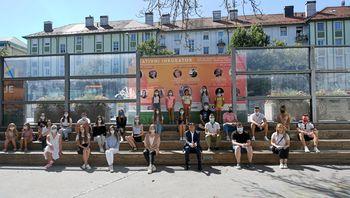 """Predsednik Pahor na pogovoru z mladimi: """"Kot osebnosti vas bodo bolj oblikovali porazi kot zmage."""""""