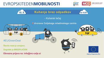 Evropski teden mobilnosti: Kuharski tečaj - kuhanje brez odpadkov