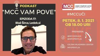 MCC vam pove: Podkast z Blažem Širco (Ledek.si)