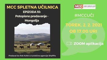 MCC spletna učilnica: Potopisno predavanje - Mongolija