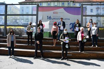 Na 16. Festivalu prostovoljstva razglasili Naj prostovoljce v Mestni občini Celje v letu 2020