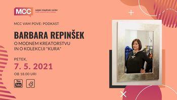 MCC vam pove podkast: Barbara Repinšek