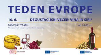 Degustacijski večer ''Vina in siri''