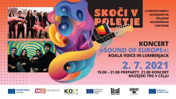 Koncert SOUND OF EUROPE: Koala Voice in Lumberjack