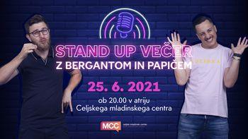 STAND UP večer z Bergantom in Papičem