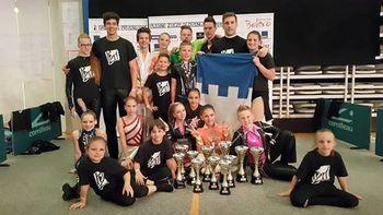 Plesni klub Tržič - Najbolj uspešen klub na državnem prvenstvu Slovenije 2015