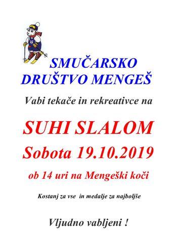 Suhi slalom
