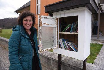 """""""Ko sem se preselila v Borovnico, sem šla najprej v knjižnico."""""""
