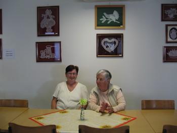 Razstava klekljanih čipk v Medgeneracijskem centru »Pri Tinci«