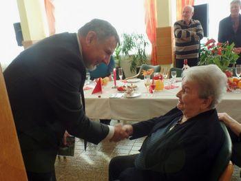 95 let Hermine Božič