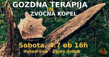 Gozdna terapija in zvočna kopel