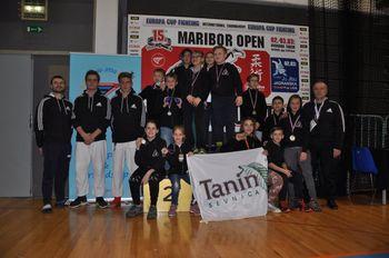EVROPSKI POKAL V JU JITSU borbah Maribor OPEN 2019,  sevniški DBV IPPON z mlado ekipo osvojili 13 medalj
