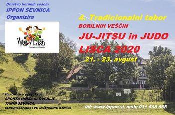 4. Tradicionalni tabor BORILNIH VEŠČIN DBV IPPON LISCA 2020