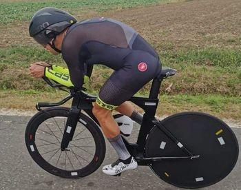 Stanko Verstovšek, Posavc, ki je s kolesom postavil svetovni rekord