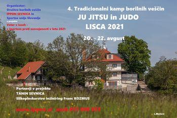 4. Tradicionalni kamp borilnih veščin IPPON LISCA 2021