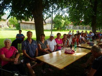 Letos je bilo srečanje pod dišečimi lipami v Boštanju