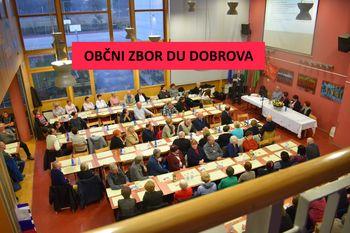 Poročilo z občnega zbora DU Dobrova