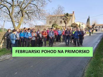 FEBRUARSKI POHOD NA PRIMORSKO