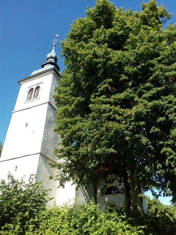 Marjetna nedelja pri cerkvi sv. Barbare na Ravniku