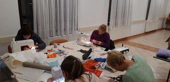 Nadaljevalni tečaj šivanja v Polhovem Gradcu