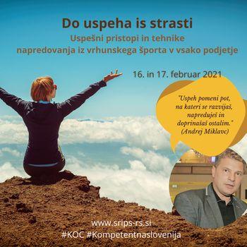 Do uspeha iz strasti z Andrejem Miklavcem! (brezplačno e-usposabljanje)