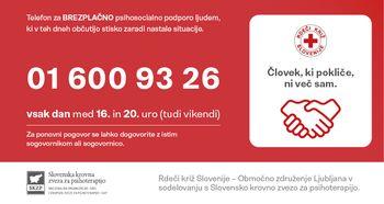 Telefon za psihosocialno podporo ljudem v stiski